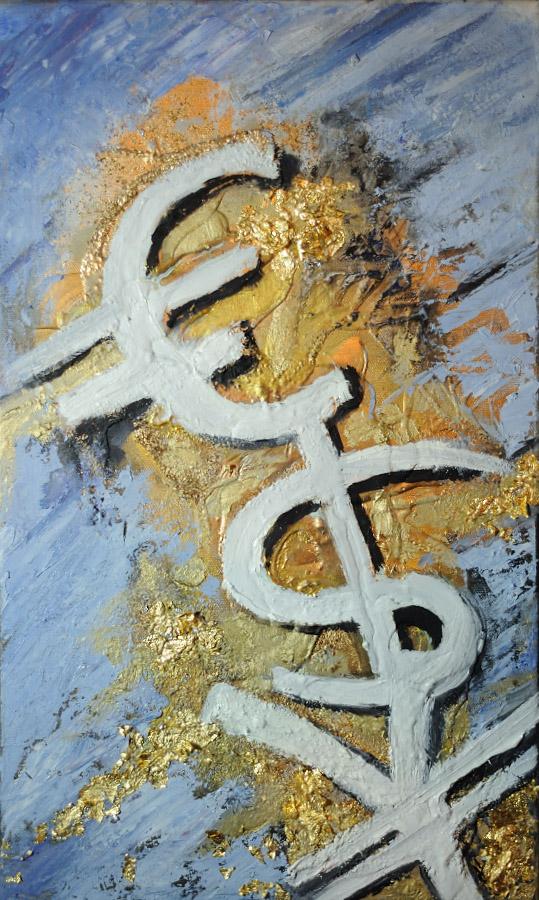 Euro, Dollar, Yen